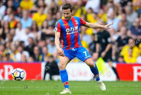 Stock Photo of Yohan Cabaye of Crystal Palace