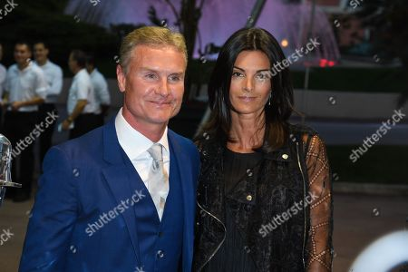David Coulthard, Karen Minier