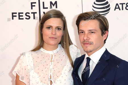 Editorial picture of World Premiere of EGG at the 2018 Tribeca Film Festival, presented by AT&T, New York, USA - 21 Apr 2018