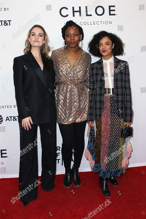 Lily James, Nina Dacosta, Tessa Thompson