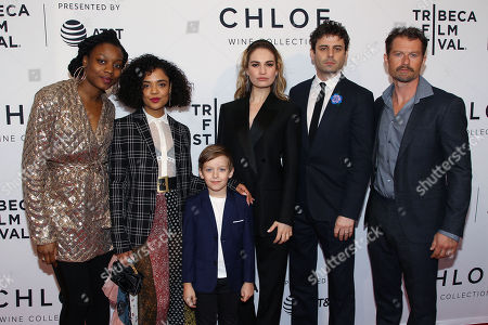Nina Dacosta, Tessa Thompson, Charlie Ray Reid, Lily James, Luke Kirby, James Badge Dale