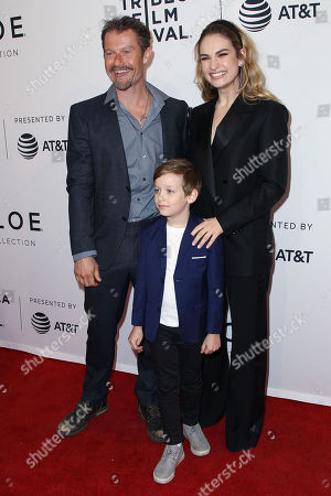 James Badge Dale, Charlie Ray Reid, Lily James