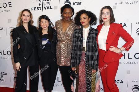 Lily James, Rachel Fung, Nina Dacosta, Tessa Thompson, Gabrielle Nadig
