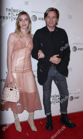 Clara McGregor and Ewan McGregor