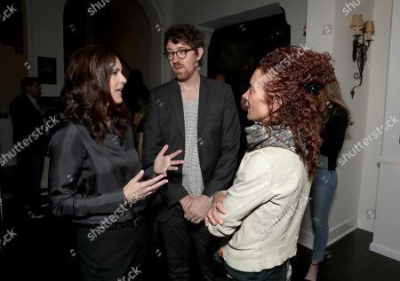 Isa Dick Hackett, Executive Producer Kalen Egan, and Julie Berghoff