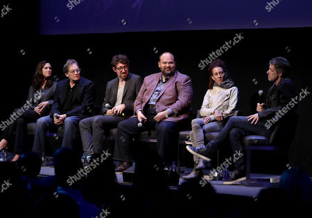 Isa Dick Hackett, Executive Producer Michael Dinner, Executive Producer Kalen Egan, Mel Rodriguez, Julie Berghoff, and Composer Harry Gregson-Williams