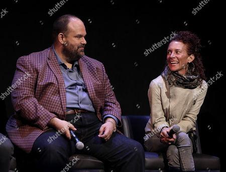 Mel Rodriguez and Julie Berghoff