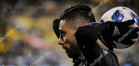 Editorial image of MLS 2017: Revolution vs Crew SC, Columbus, USA - 21 Apr 2018