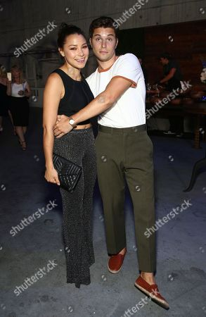 Jessica Parker Kennedy, Ronen Rubinstein. Jessica Parker Kennedy, left, and Ronen Rubinstein attend the cocktail reception at the Humane Society of the United States' To the Rescue! Los Angeles gala. The gala was held at Paramount Studios and benefitted the HSUS' Farm Animal Protection campaign. Competitive Surfer Conrad Carr, undercover investigators Whitney Warrington and Mary Beth Sweetland, and law firm Latham & Watkins, LLP were honored at the event, which featured performances by Moby. (Photo by