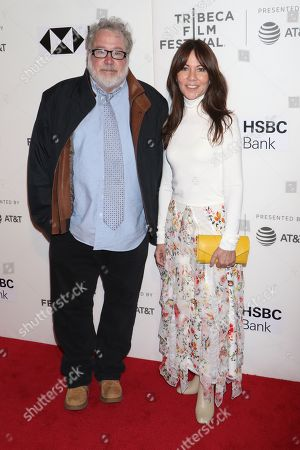 Tom Hulce and Leslie Urdang