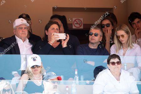 Editorial photo of Monte-Carlo Rolex Masters tennis, Monaco - 21 Apr 2018