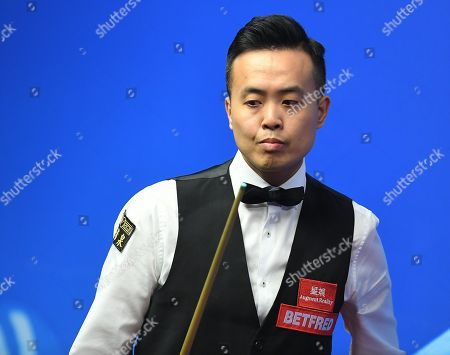 Stock Image of Marco Fu during his first round match