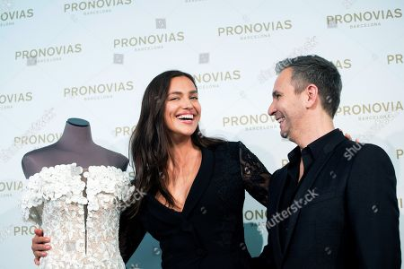 Editorial image of Irina Shayk presents Atelier Pronovias 2019, Barcelona, Spain - 22 Apr 2018