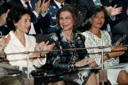 Queen Sofia and Ana Patricia Botin