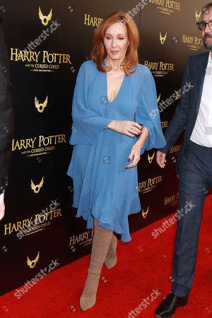 Stock Photo of J.K. Rowling
