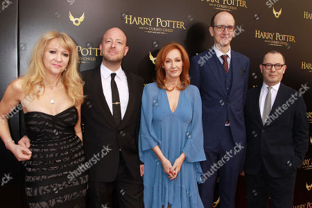 Sonia Friedman, John Tiffany, J.K. Rowling, John Tiffany and Colin Callender