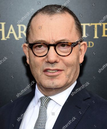 """Producer Colin Callender attends the """"Harry Potter and the Cursed Child"""" Broadway opening at the Lyric Theatre, in New York"""