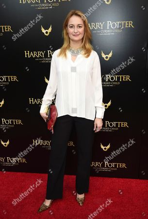 """Stock Picture of Nell Benjamin attends the """"Harry Potter and the Cursed Child"""" Broadway opening at the Lyric Theatre, in New York"""
