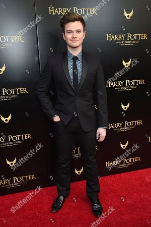 """Chris Colfer attends the """"Harry Potter and the Cursed Child"""" Broadway opening at the Lyric Theatre, in New York"""