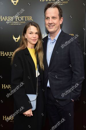 """Editorial image of """"Harry Potter and the Cursed Child"""" Broadway Opening, New York, USA - 22 Apr 2018"""