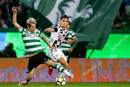 Fabio Coentrao and Renato Santos