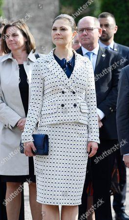 Crown Princess Victoria, Isabella Lövin, Urban Ahlin, UN Secretary-General visit Dag Hammarskjöld's family grave