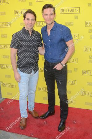 Stock Picture of Christian Barillas and Brett Ryback
