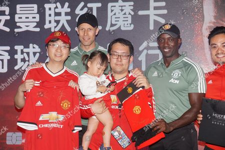 Editorial image of Former Manchester United footballers Dwight Yorke and Ronny Johnsen meet fans, Shanghai, China - 22 Apr 2018