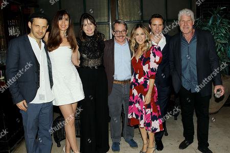 Geza Rohrig, Carol Alt, Emily Mortimer (Producer), Matthew Broderick, Sarah Jessica Parker, Alessandro Nivola (Producer), Ron Perlman (Producer)