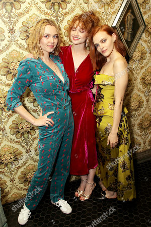 Stock Picture of Immy Waterhouse, Sarah Hay, Madeline Brewer