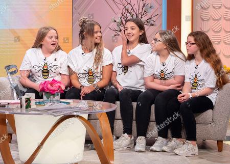 Editorial photo of 'Lorraine' TV show, London, UK - 23 Apr 2018
