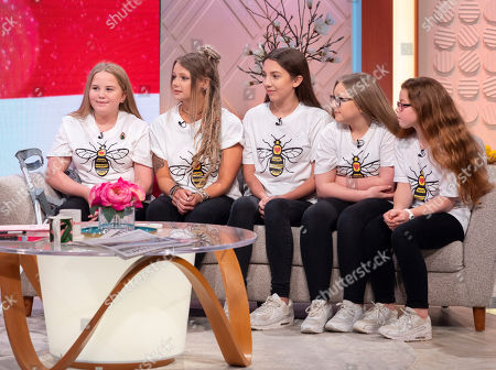 Editorial picture of 'Lorraine' TV show, London, UK - 23 Apr 2018
