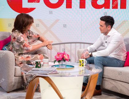 Lorraine Kelly and Ray Quinn