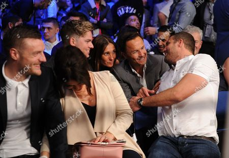 Jack Maynard, Claire Wise, Dennis Wise and Jamie Lomas