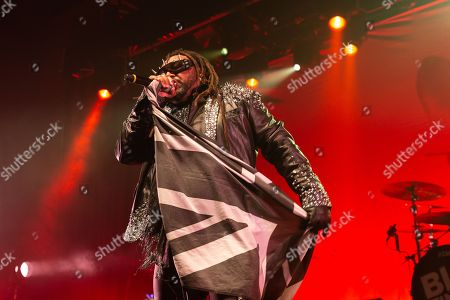 Editorial photo of Skindred in concert, Academy, Manchester, UK - 22 Apr 2018