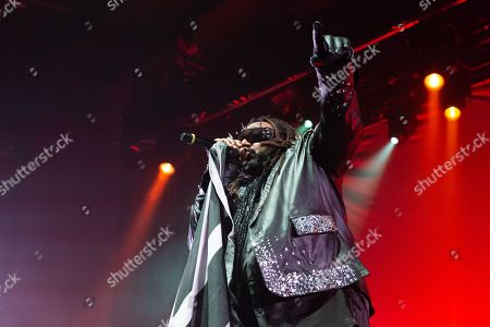 Editorial picture of Skindred in concert, Academy, Manchester, UK - 22 Apr 2018