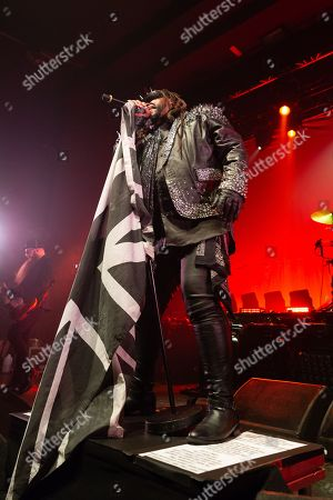 Stock Picture of Skindred - Benji Webbe