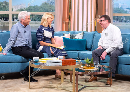 Editorial image of 'This Morning' TV show, London, UK - 23 Apr 2018