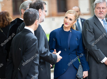 Cristina Cifuentes and Mariano Rajoy