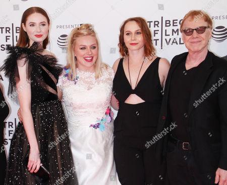 Karen Gillan, Rachel Jackson, Mali Elfman, Danny Elfman, Sloan M