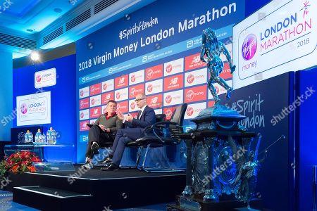 Director of the Virgin Money London Marathon Hugh Brasher, interviewed by Tim Hutchinson