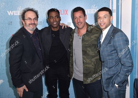 Robert Smigel, Chris Rock, Adam Sandler, Roland Buck III