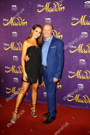 Mandy Capristo mit ihrem Vater Vittorio Capristo