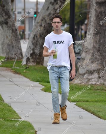 Editorial image of Ryan McCartan out and about, Los Angeles, USA - 21 Apr 2018