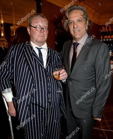 Fergus Henderson and Giorgio Locatelli