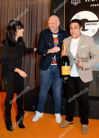 Claudia Winkleman, Tom Kerridge and Paul Ainsworth