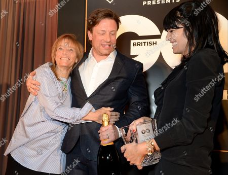 Ruth Rogers, Jamie Oliver and Claudia Winkleman