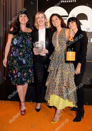 Melissa Hemsley, Clare Smyth, Jasmine Hemsley and Claudia Winkleman