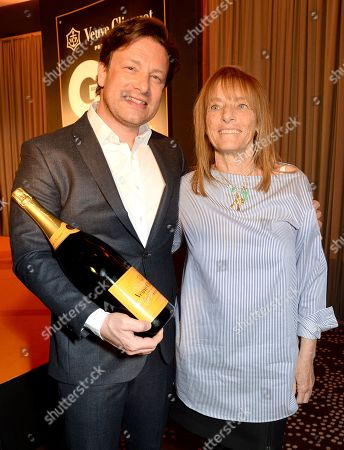 Jamie Oliver and Ruth Rogers