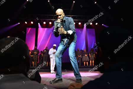 Pastor Charles Jenkins and Donnie McClurkin